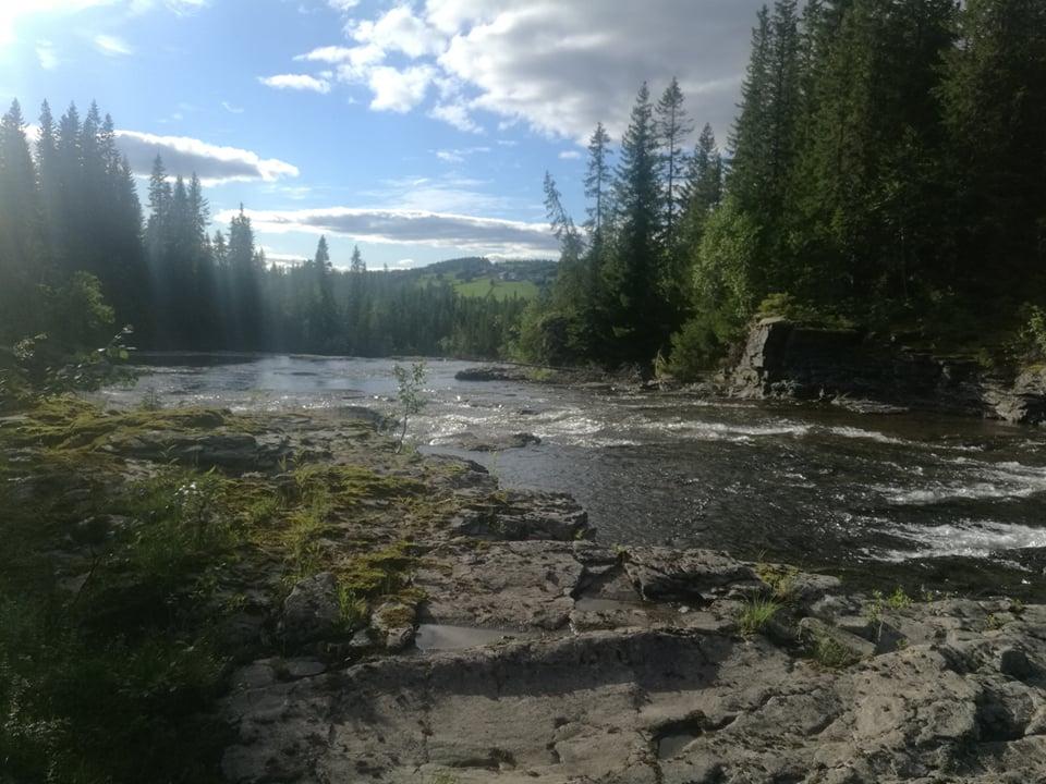Řeka v Norsku
