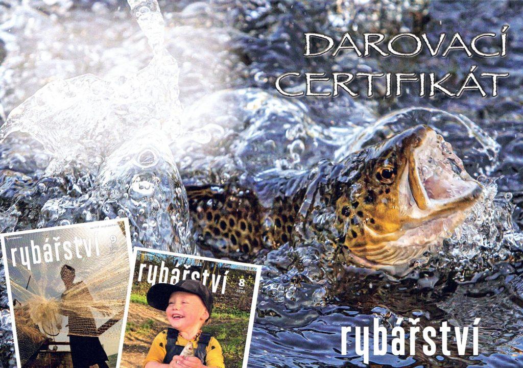darovací certifikát