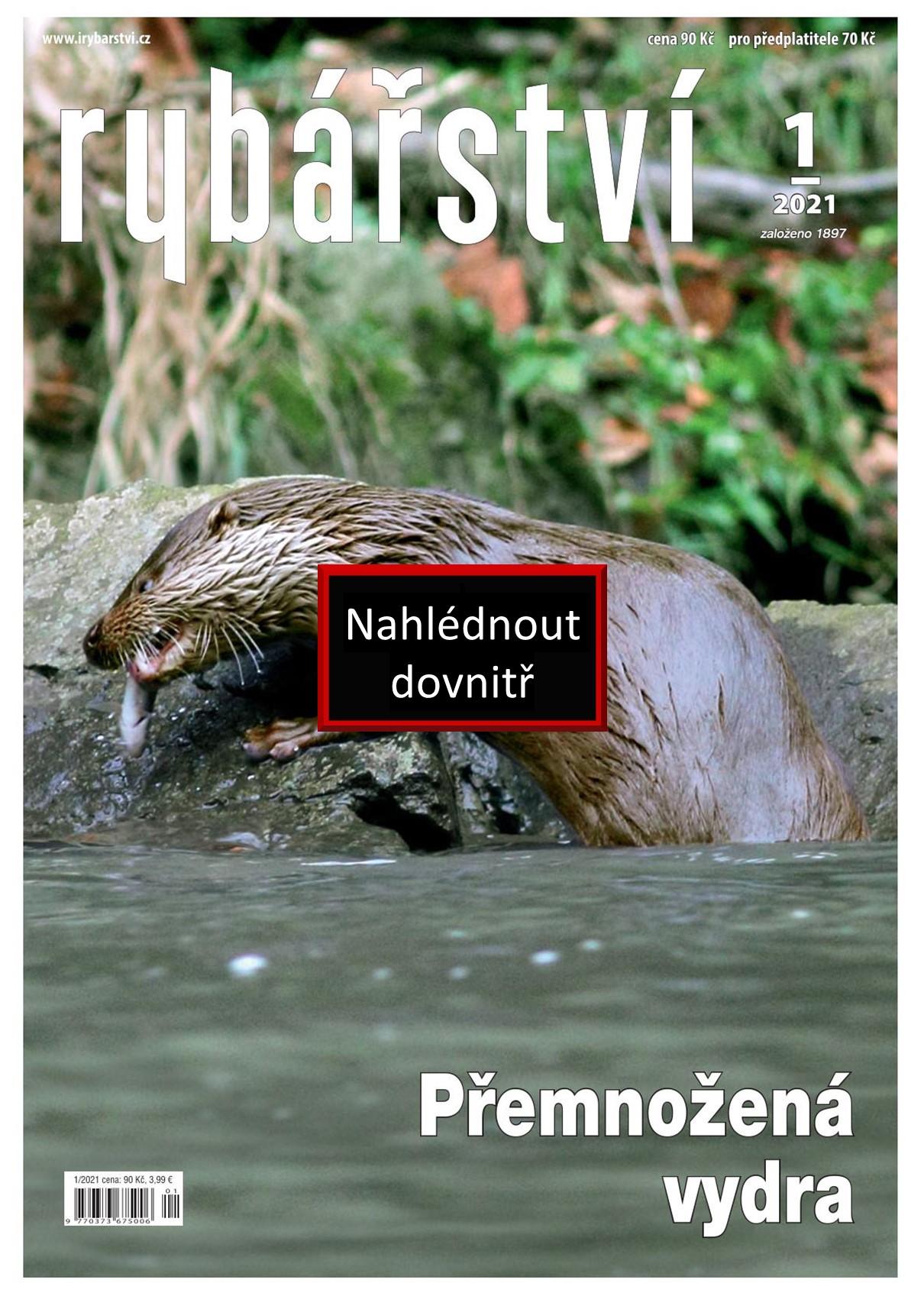 Časopis Rybářství - 2021/1