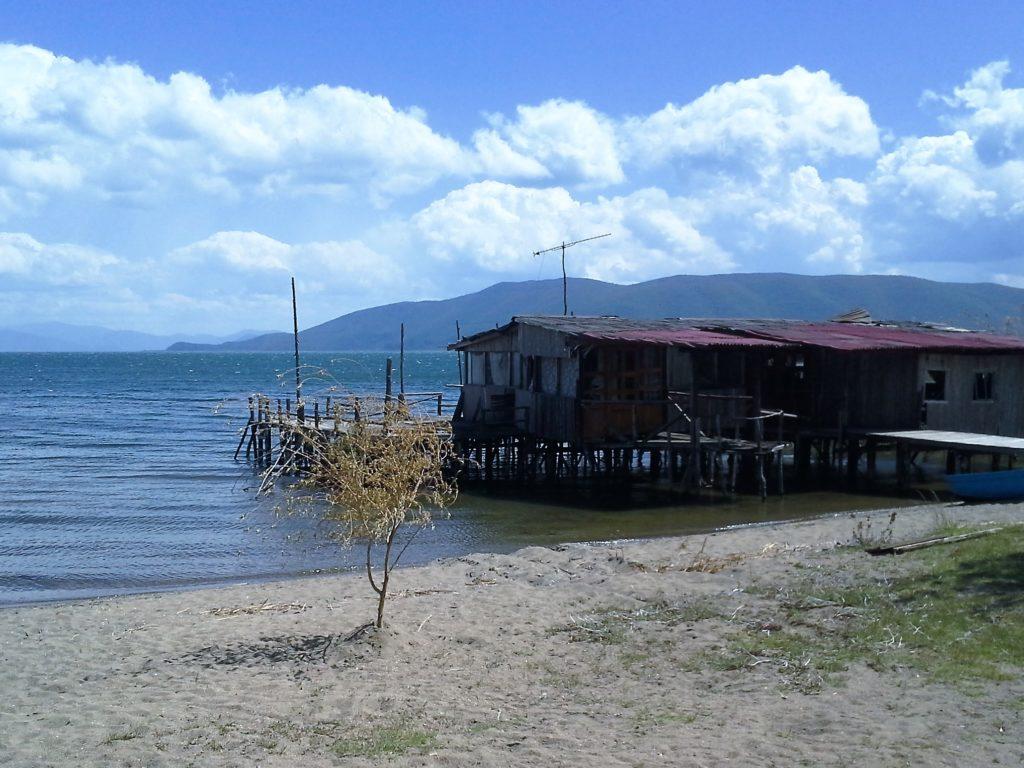 chata na jezeře