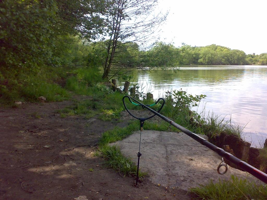 posezení u přehrady