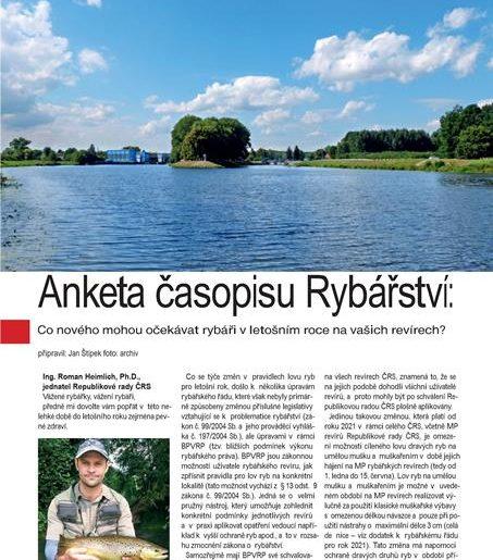 časopis Rybářství