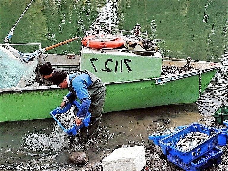 rybáři na Galilejském jezeře