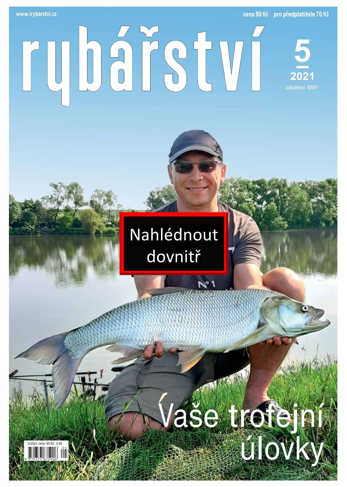 Časopis Rybářství - 2021/5
