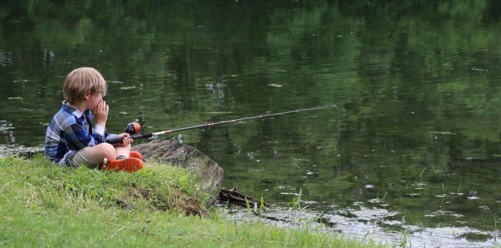 dětský rybář