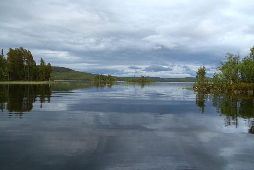 švédská jezera